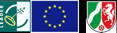 Logos: LEADER, EU, NRW.